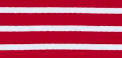 Bretonisches Damenshirt Kurzarm in versch. Farben - rot-weiß, 36