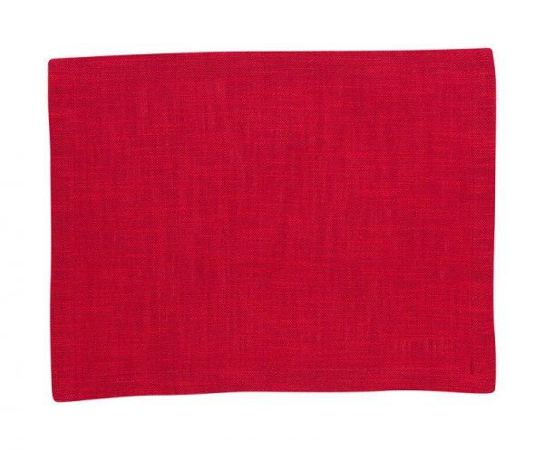 Scantex Tischset Mino in verschiedenen Farben - Rosso