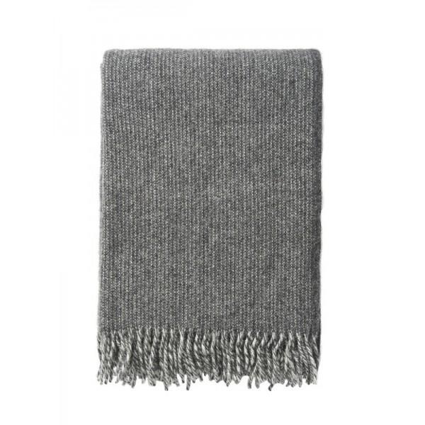 Klippan Wolldecke 'Shimmer' - Grey