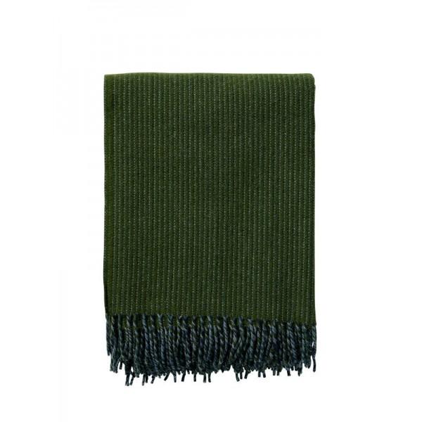 Klippan Wolldecke 'Shimmer' - Green