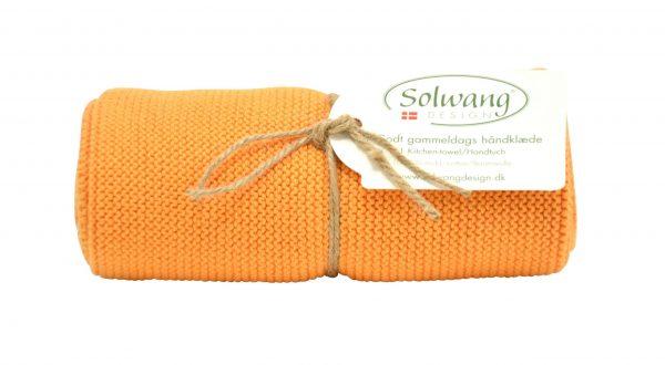 Solwang Handtuch helles gebranntes Orange