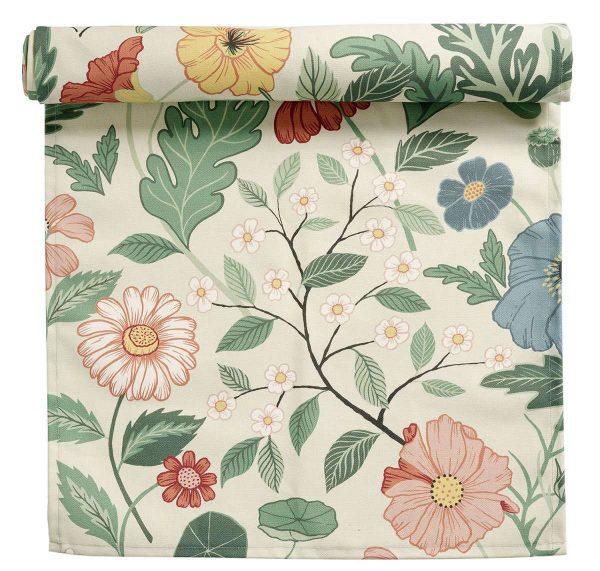 Klippan Tischläufer Bloom Creme