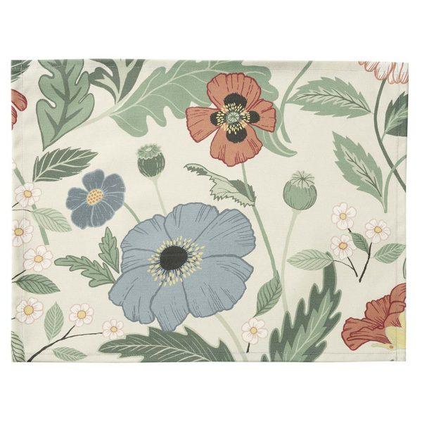 Klippan Tischset Bloom creme