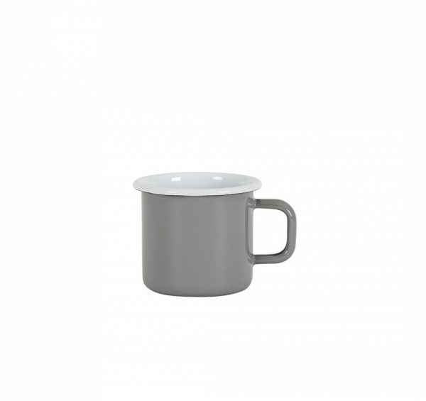 Kockums Emaille Becher Grey