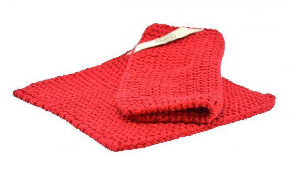 Solwang Topflappen Warmes Rot