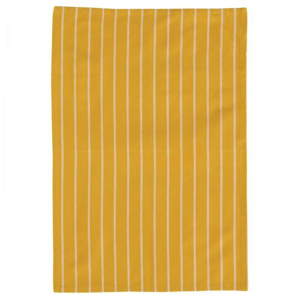 Scantex Geschirrtuch Brasserie verschiedenen Farben - Yellow Sun-Weiss