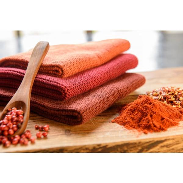 Solwang Wischtuch Gebranntes Rot - Bio