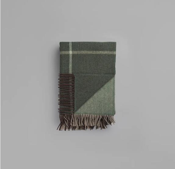 Roros Tweed Filos green