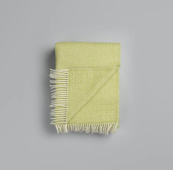 Roros Tweed Kattefot green