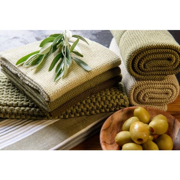Solwang Wischtuch Oliven Kombi -Bio-