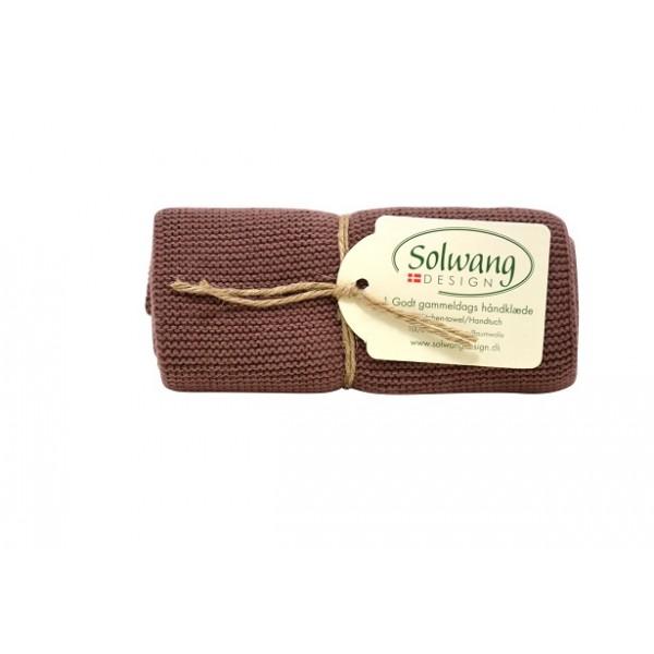 Solwang Handtuch Schokolade