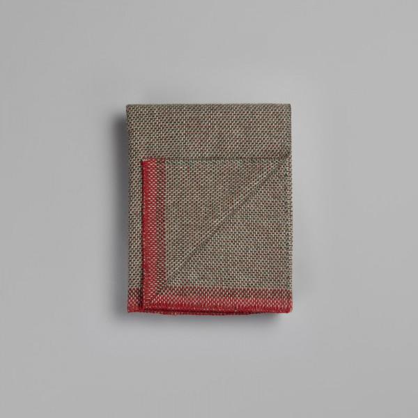Roros Tweed Una green-red