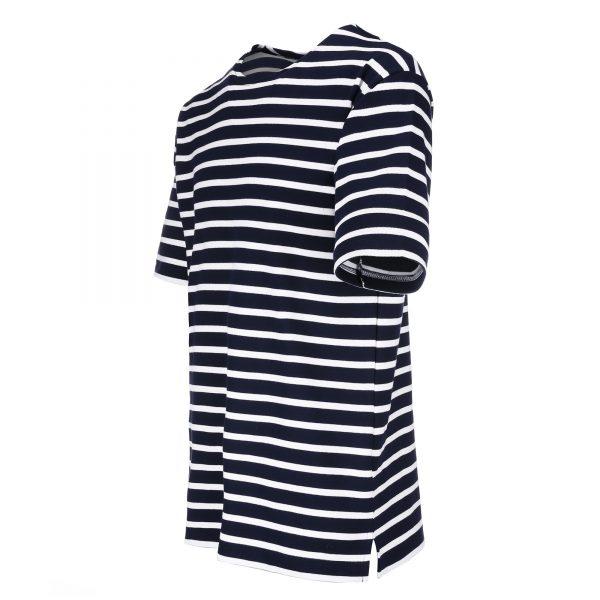 Bretonisches Herrenshirt Kurzarm - blau-weiß, 50