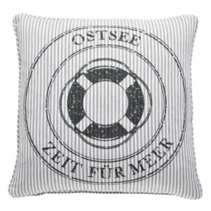 Pad Kissenhülle Ocean Ostsee Grey