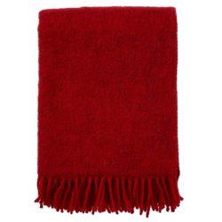 Klippan Wolldecke 'Gotland' Red