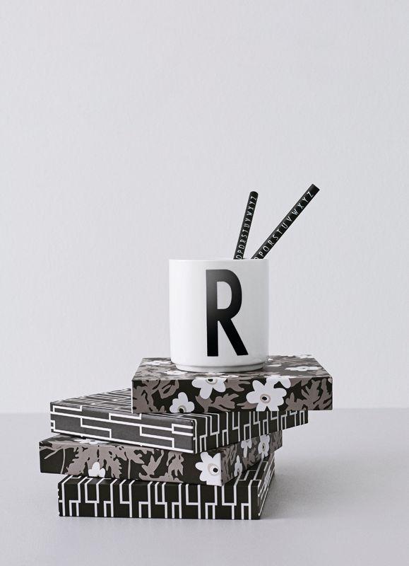 Design Letters Persönliche Porzellantasse weiß R