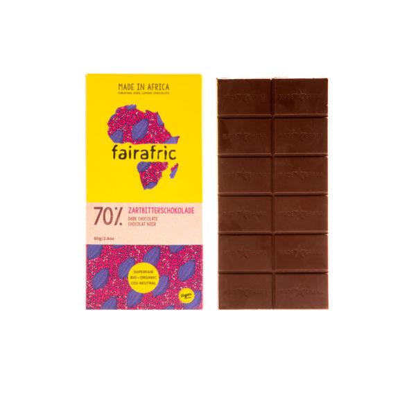 Fairafric Bio-Zartbitterschokolade70%
