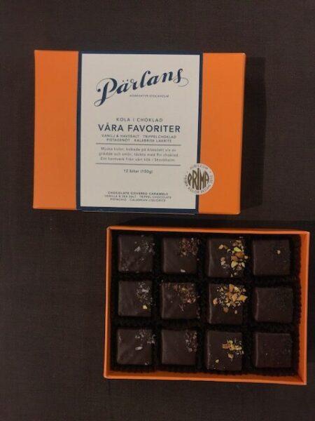 Pärlans Karamell in Schokolade