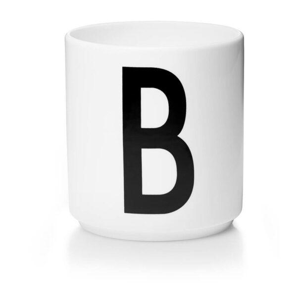 Design Letters Persönliche Porzellantasse weiß B