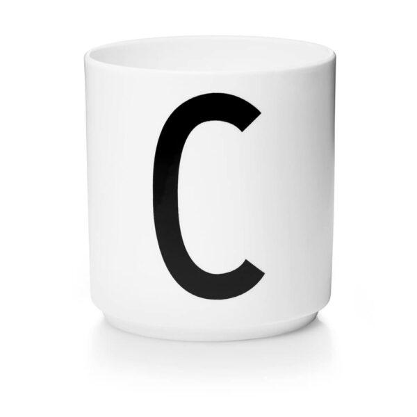 Design Letters Persönliche Porzellantasse weiß C