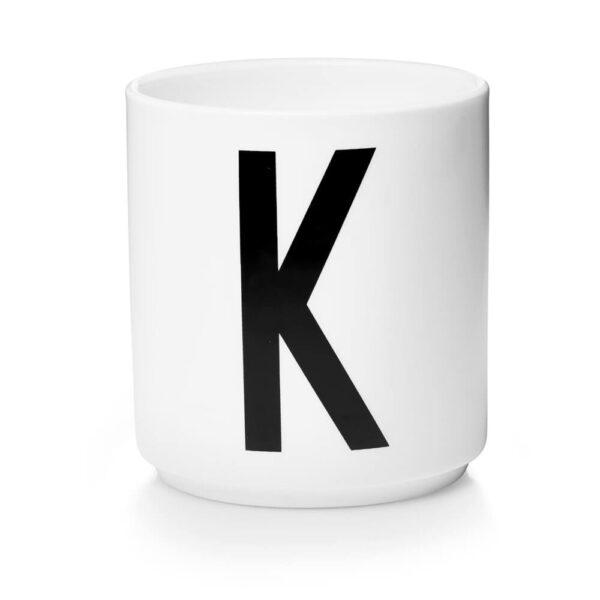 Design Letters Persönliche Porzellantasse weiß K