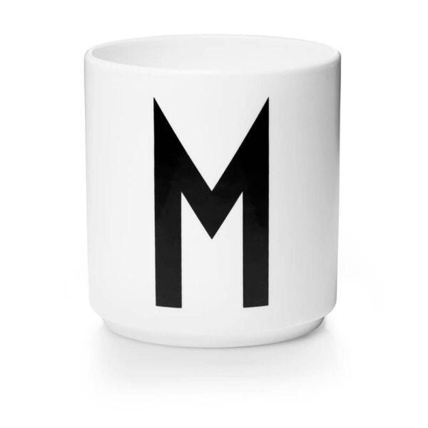 Design Letters Persönliche Porzellantasse weiß M