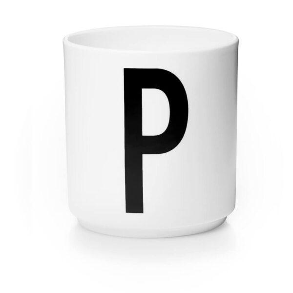 Design Letters Persönliche Porzellantasse weiß P