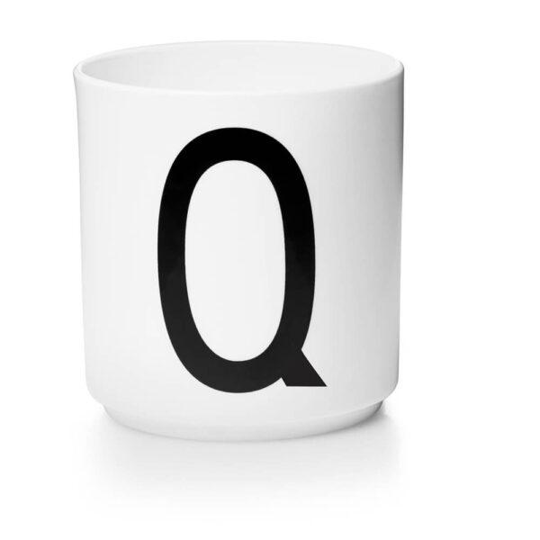 Design Letters Persönliche Porzellantasse weiß Q