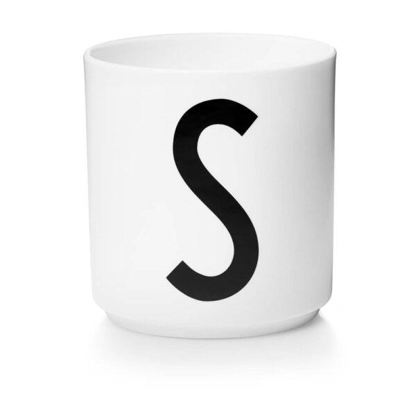 Design Letters Persönliche Porzellantasse weiß S