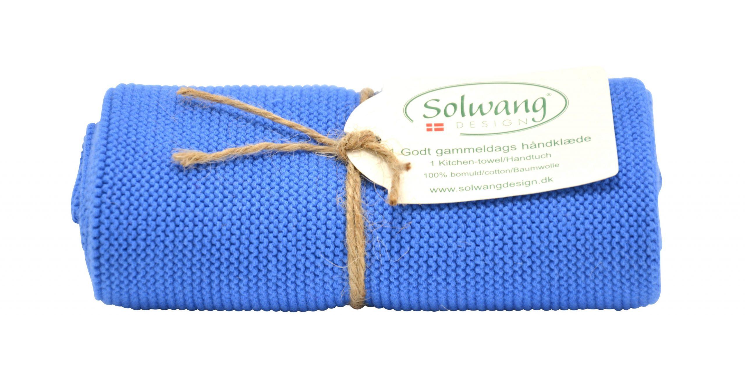 Solwang Handtuch klares Blau