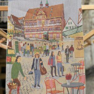 Ekelund Handtuch Tübingen Rathaus